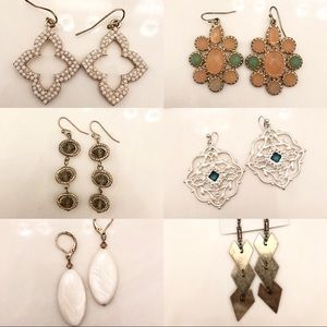 Jewelry - Bundle of 6 Pairs of Earrings